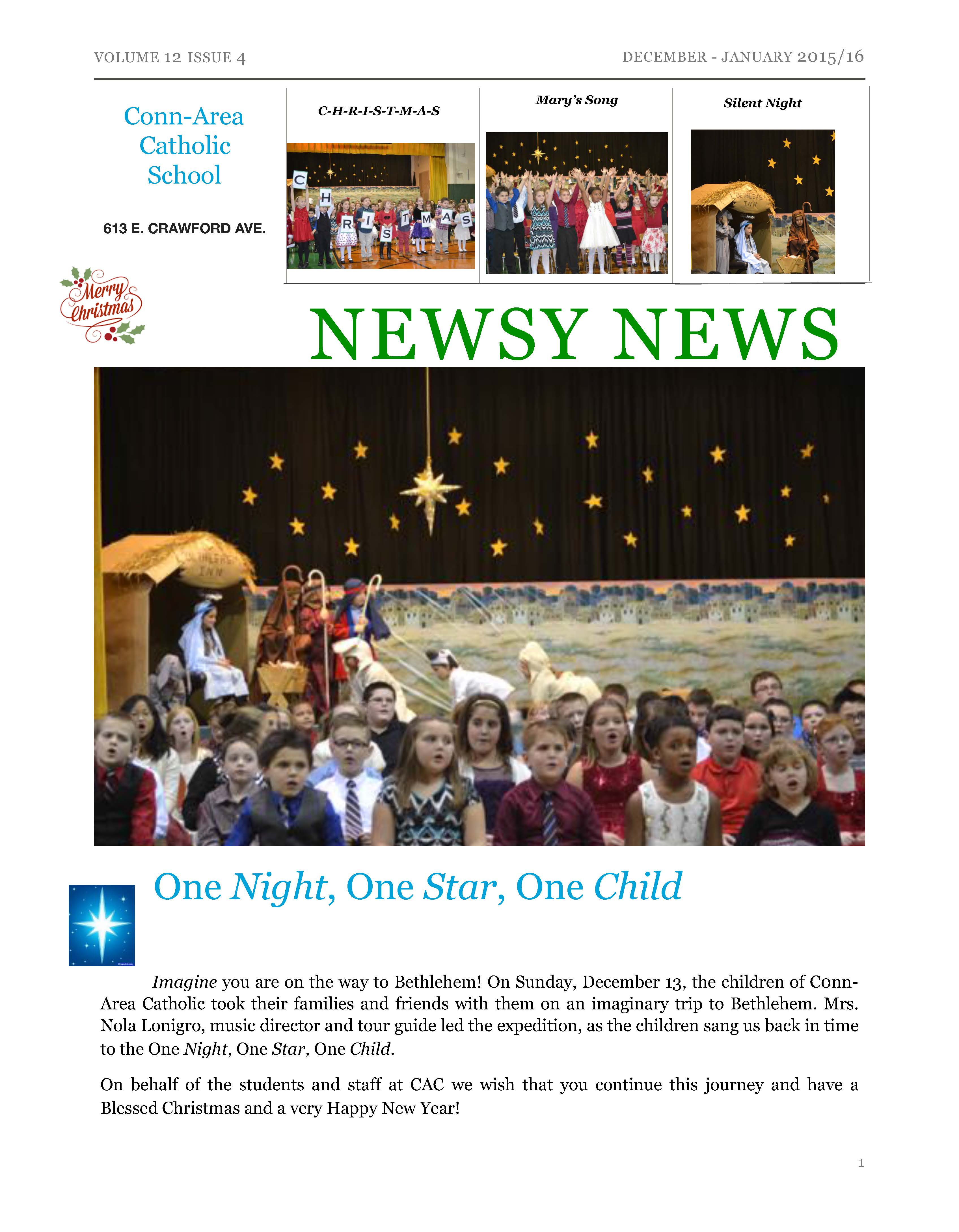 Newsy News - Dec. 2015/Jan. 2016