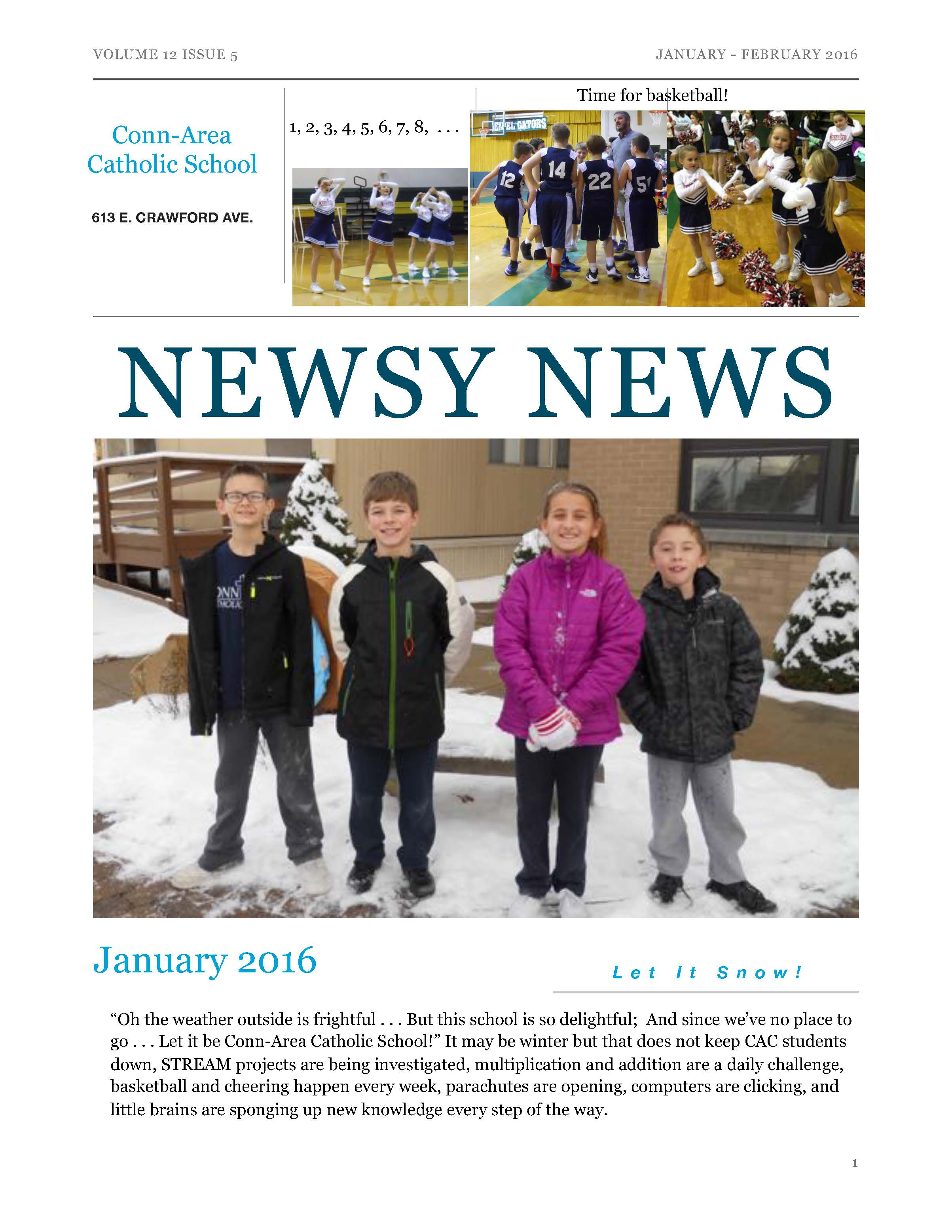 Newsy News - Jan./Feb. 2016