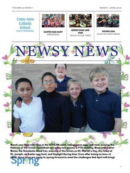 Newsy News - Mar./Apr. 2016