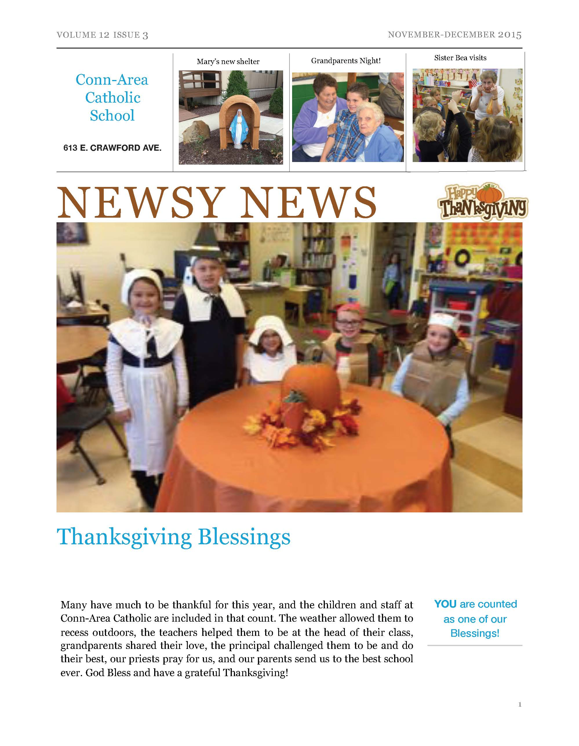 Newsy News - Nov./Dec. 2015